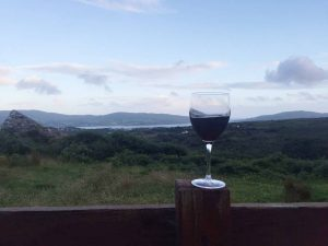 Eagle Hill Castletownbere Self Catering views.