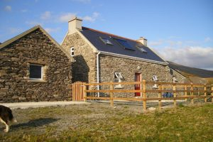 Castletownbere holiday home self catering accommodation in peaceful and beautiful rural setting views out to Bere Island